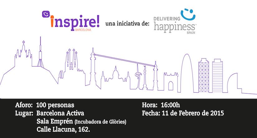¡Próximo Evento INSPIRE BARCELONA!
