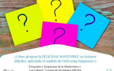 Preguntas y Respuestas de la Masterclass 2